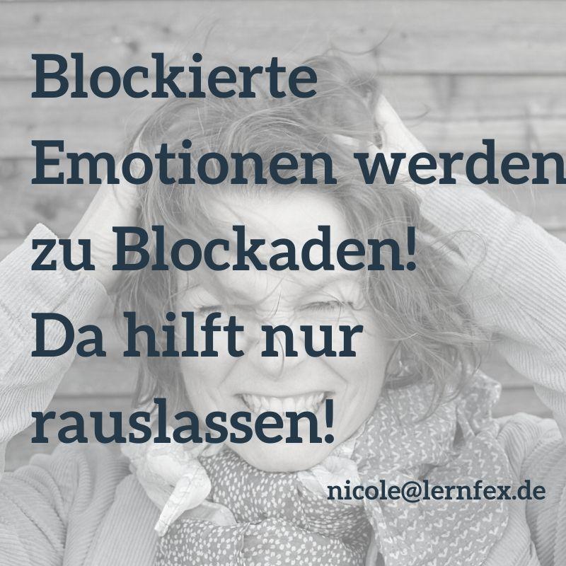 blockierte Emotionen werden zu Lernblockaden